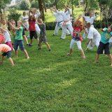 Niedzielne zajęcia Letniej Akademii Karate…
