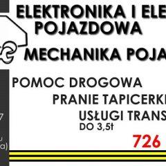 Elektryka/elektronika/mechanika pojazdowa…