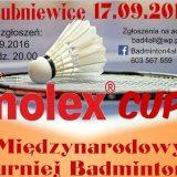 MOLEX CUP – Międzynarodowy Turniej Badmintona…