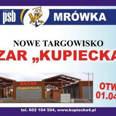 """Bazar """"Kupiecka 4"""" – wkrótce otwarcie…"""