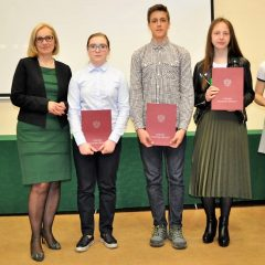 Sulęcińscy gimnazjaliści odebrali nagrody…