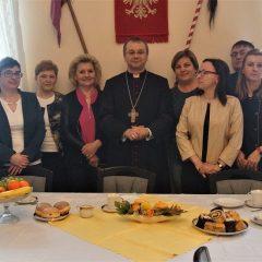 Biskup Tadeusz Lityński – wizyta w DPS Tursk