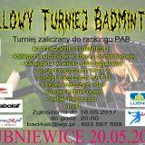 Halowy Turniej Badmintona…