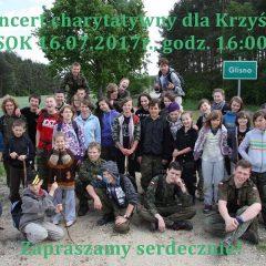 Koncert charytatywny dla Krzyśka…