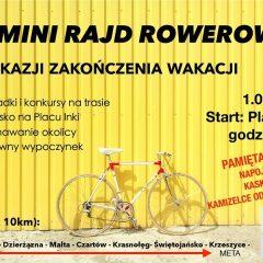II Mini Rajd Rowerowy