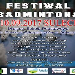 Zapraszamy na Festiwal Badmintona