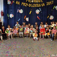 Kolejne dzieci przyjęte w poczet przedszkolaków