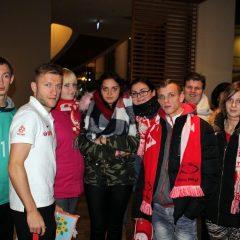 Uczniowie SOSW na meczu Polski z Meksykiem
