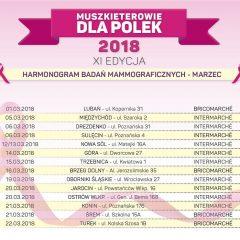 Muszkieterowie dla Polek 2018