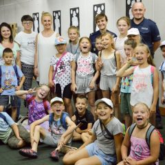 Wizyta dzieci w KPP Sulęcin