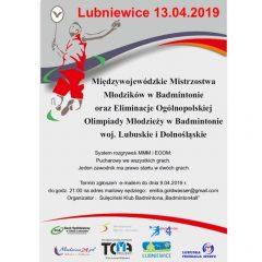 Międzywojewódzkie Mistrzostwa w Badmintonie