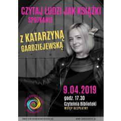 Spotkanie z Katarzyną Gardziejewską