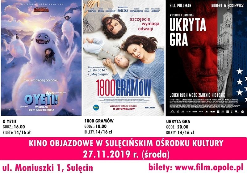 27.11. - Kino Objazdowe