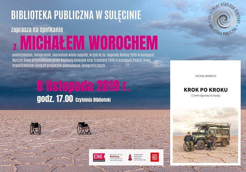 Spotkanie z Michałem Worochem