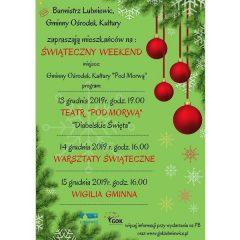 Świąteczny Weekend – Lubniewice